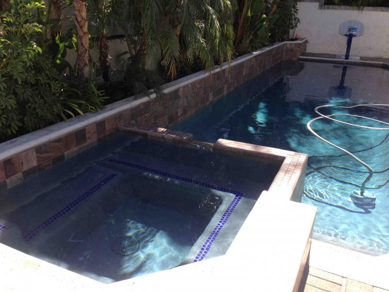 After retile of pool in Laguna Niguel - Little Tile Inc