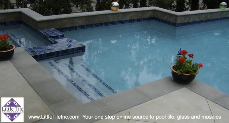 Little Tile Inc uses Fujiwa Pool Tile